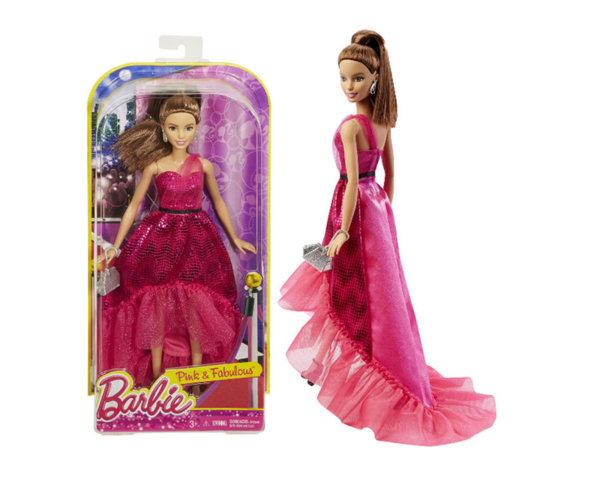 Кукла Barbie - Кукла с розов тоалет
